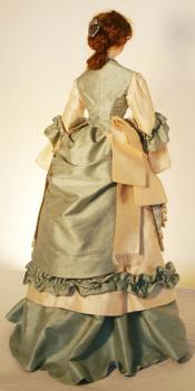 Click to enlarge image Lady Marion Mold Set - 1876 Visiting Dress