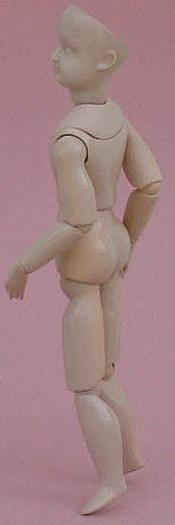 Click to enlarge image  - French Fashion Body for 11 1/2 inch Dolls -