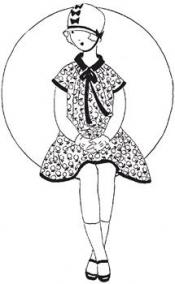 Click to enlarge image 1920s Dress - Pattern 101