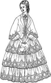 Click to enlarge image 1853 Day Dress - Pattern 37